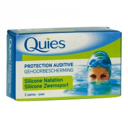 Quies maxi silicone natation 3 paires