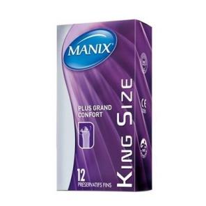 Manix king size 12 préservatifs