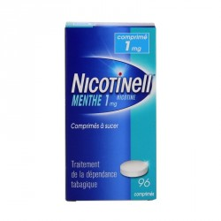 Nicotinell menthe 1 mg 96 comprimés