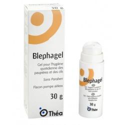 Thea blephagel sft technology gel sterile hygiene paupiere cils 30g