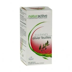 Naturactive Elusanes Olivier Feuilles 60 gélules