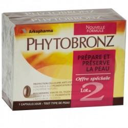 Arkopharma phytobronz duo 30 capsules
