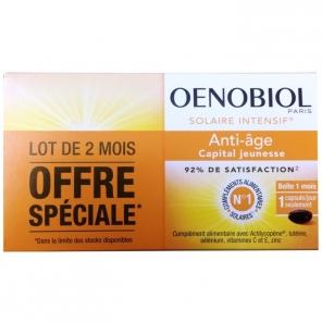 Oenobiol solaire intensif anti-age 2 x 30 capsules