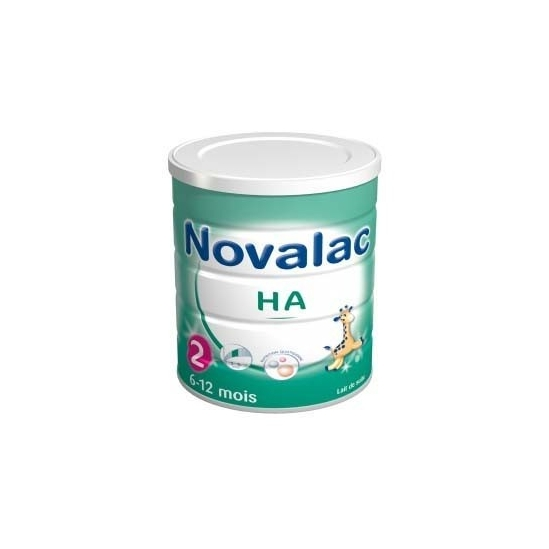 Novalac HA 2ème Age Hypoallergénique 800g