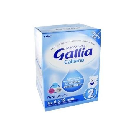 Gallia Calisma 2ème Age Lait en Poudre 1,2kg