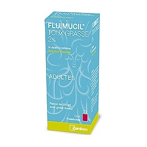 Fluimucil 2% Adultes Solution Buvable 200ml