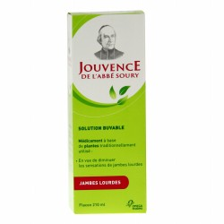 Jouvence de l'abbé Soury solution buvable 210 ml