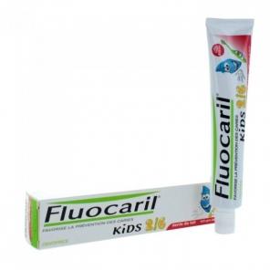 Fluocaril Kids Dentifrice Fraise 2-6 ans 50 ml