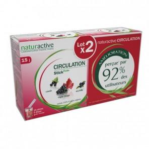 Naturactive circulation sticks fluides duo 15 x 10 ml