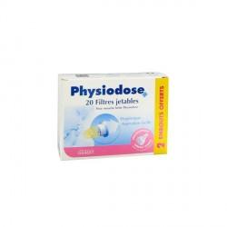 Physiodose filtres pour mouche bébé 20 filtres + 2 embouts offerts