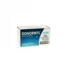 Donormyl 15mg 10 comprimés