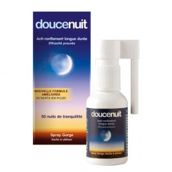 Doucenuit spray gorge anti-ronflement 60ml