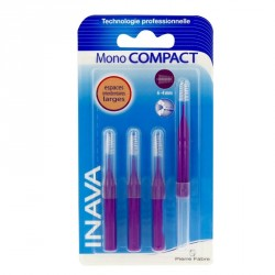 Inava brossettes interdentaires mono compact violet 6-4mm x 4