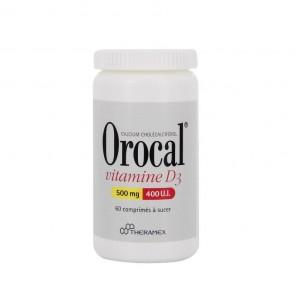 Orocal d3 60comp 500m/400u.i