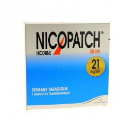 Nicopatch 21mg/24H Dispositif Transdermique 7 Sachets