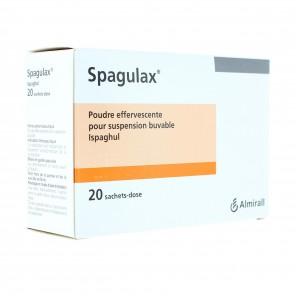 Spagulax poudre effervescente pour suspension buvable 20 sachets doses de 5g