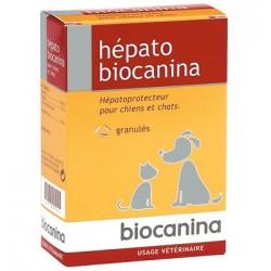 Biocanina Hépato Granulés Pour La Protection Et La Stimulation De L'activité Du Foie Des Chiens Et Des Chats 80G