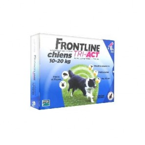 Mérial Frontline Tri-Act Chiens 10-20 kg 6 Pipettes