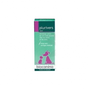 Biocanina Plurivers sirop chiens et chats 90ml