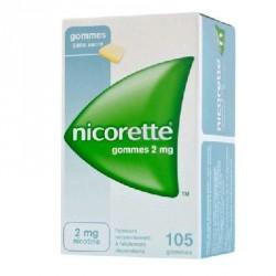 Nicorette 2mg 105 Gommes