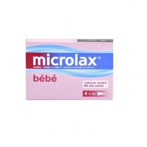 Microlax bébé 4 unidoses