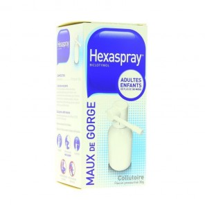 Hexaspray Collutoire 30g