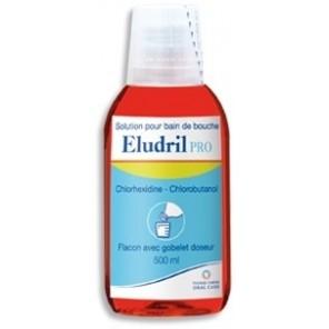 Eludril Pro bain de bouche 500ml