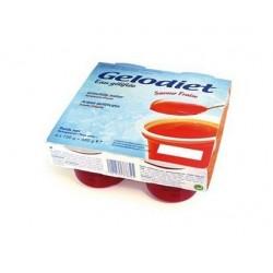 Gelodiet fraise eaux gélifiées 4x120g