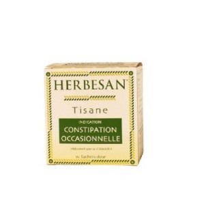 Herbesan tisane constipation occasionnelle 10 sachets
