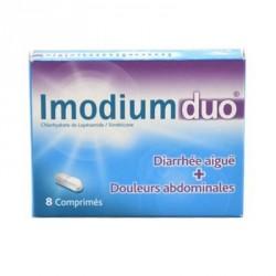 Imodiumduo 8 comprimés