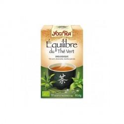 Yogi Tea Infusion Biologique Equilibre du Thé Vert 17 Sachets