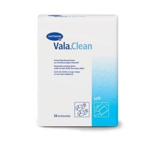Valaclean gant de toilette 50 gants