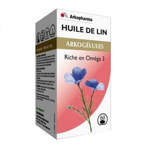 Arkogélules Huile de Lin 60 capsules