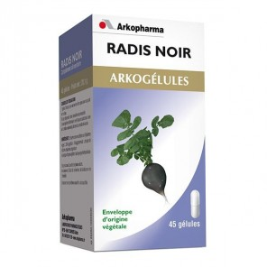 Arkopharma Arkogélules Radis Noir 45 gélules