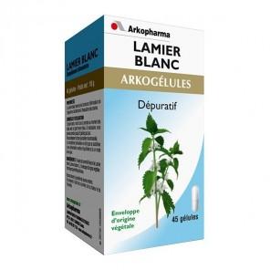 Arkopharma Arkogélules Lamier Blanc Boite de 45 Gélules