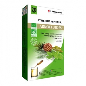 Arkopharma arkofluide bio synergie minceur 20 ampoules
