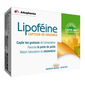 Arkopharma lipofeine chitosan 60 gelules