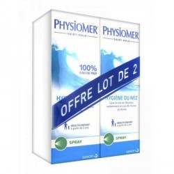 Physiomer hygiène du nez spray 2 x 135 ml