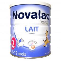 Novalac lait 2ème age 6-12mois 800g