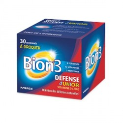 Bion 3 défense junior 60 capsules