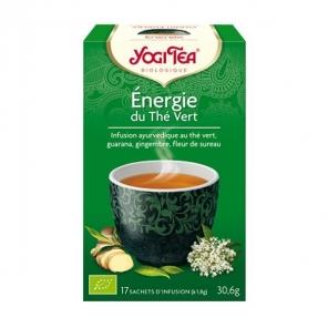 Yogi tea thé vert énergie 17 sachets