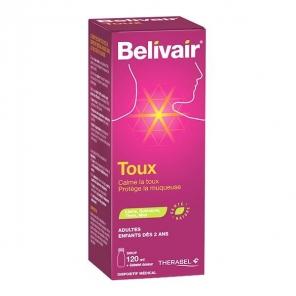 Belivair sirop pour la toux + gobelet doseur 120ml