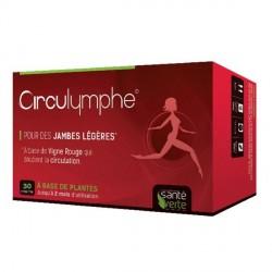 Santé Verte circulymphe bio jambes légères 30 comprimés