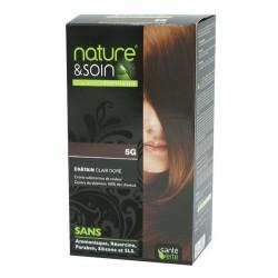 Santé Verte nature & soin coloration permanente châtain clair doré 5G 129ml