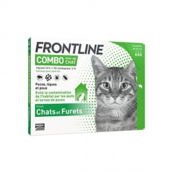 Merial Frontline Combo pour chat 6 pipettes