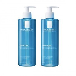 La roche posay effaclar gel moussant purifiant duo 400ml