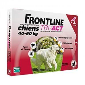 Frontline tri-actif chien XL boite de 6 pipettes