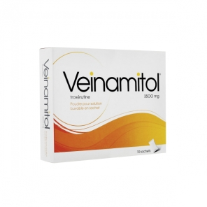Veinamitol 10 ampoules