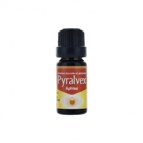 Pyralvex solution buccale et gingivale 10 ml