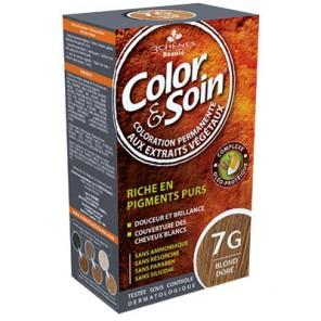 3 Chênes Color&Soin blond noisette coloration permanente 7N
